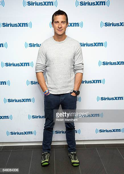 Bear Grylls visits at SiriusXM Studio on July 11 2016 in New York City