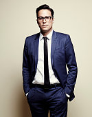 'Beast of No Nation' director Cary Fukunaga poses for a portrait at the 75th Annual Peabody Awards Ceremony at Cipriani Wall Street on May 21 2016 in...