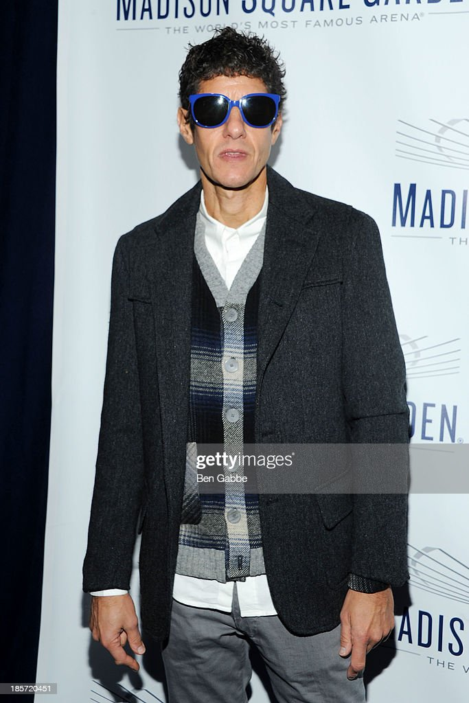 Beastie Boys' Mike D attends the Madison Square Garden Transformation Unveiling at Madison Square Garden on October 24, 2013 in New York City.