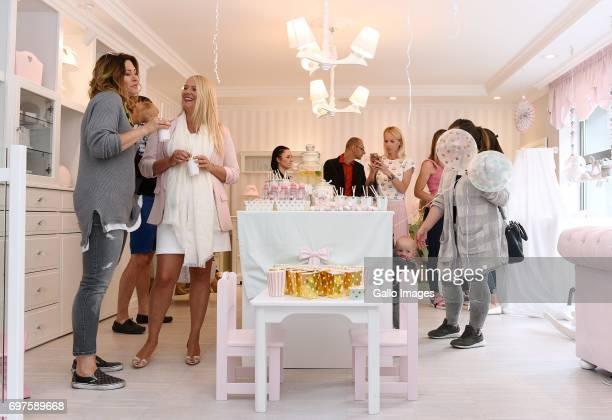 Beata Sadowska participates in the Tripp Trapp Engraving childrens day party on June 01 2017 in Warsaw Poland The Childrens Day is celebrated in...