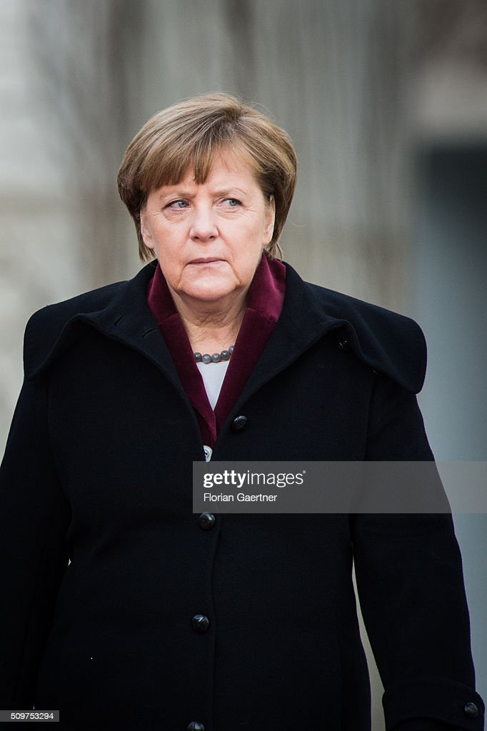 Beata Szydlo, Prime Minister of Poland (not pictured), attends German Chancellor <a gi-track='captionPersonalityLinkClicked' href=/galleries/search?phrase=Angela+Merkel&family=editorial&specificpeople=202161 ng-click='$event.stopPropagation()'>Angela Merkel</a> on February 12, 2016 in Berlin.