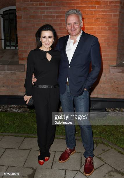 Beata Tadla and Jaroslaw Kret attend the Forever Young Varilux gala on June 06 2017 at the IMKA Theatre in Warsaw Poland The gala was organized by a...