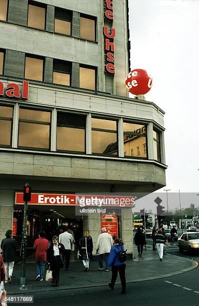 Beate Uhse 'Erotikmuseum' in der Kantstrasse 1997