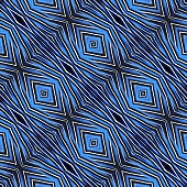 Beatiful of Blue Background pattern made from Blue bird feathers