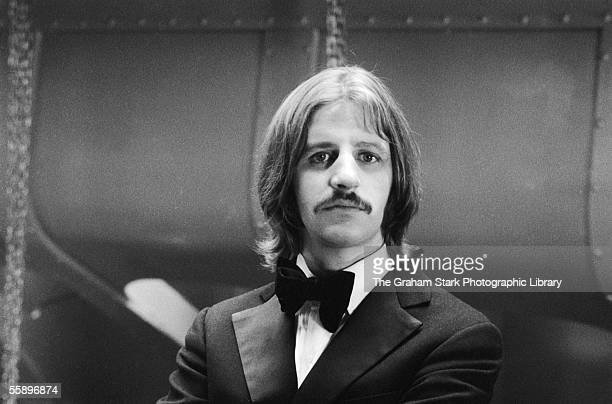 Beatles drummer Ringo Starr on the set of 'The Magic Christian' directed by Joseph McGrath 1969 Starr plays the character of Youngman Grand in the...