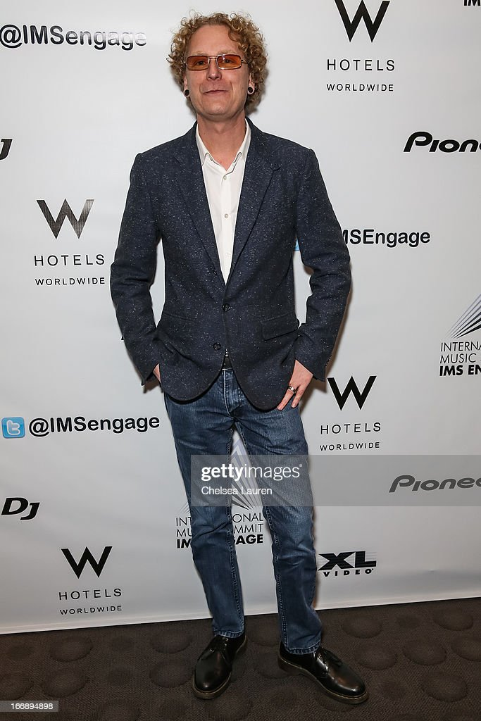 Beatport CEO Matthew Adell attends IMS Engage in partnership with W Hotels Worldwide at W Hollywood on April 17, 2013 in Hollywood, California.