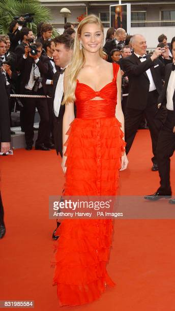 Beatrice Borromeo arrives for the premiere of Babel at the Palais des Festival during the 59th Cannes Film Festival in France
