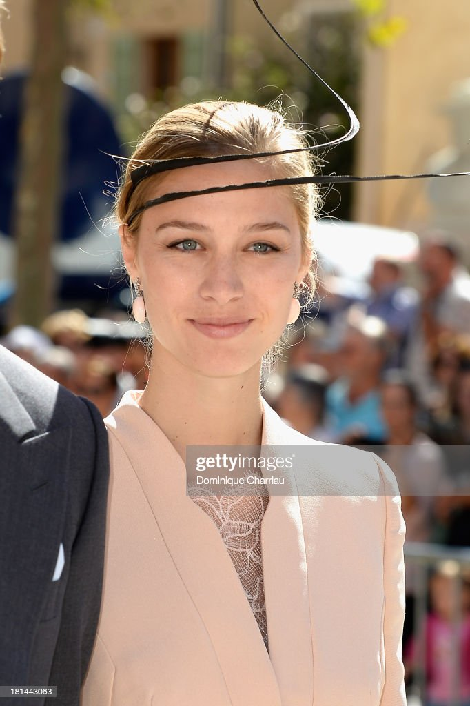 Beatrice Borromeo attends the Religious Wedding Of Prince Felix Of Luxembourg and Claire Lademacher at Basilique Sainte Marie-Madeleine on September 21, 2013 in Saint-Maximin-La-Sainte-Baume, France.