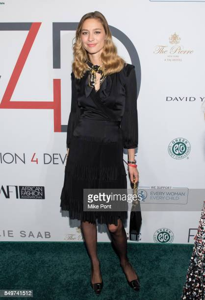 Beatrice Borromeo Casiraghi attends Fashion 4 Development's 7th Annual First Ladies Luncheon at The Pierre Hotel on September 19 2017 in New York City