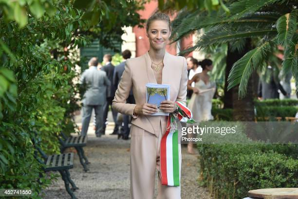 Beatrice Borromeo is seen on July 26 2014 in Santa Margherita Ligure Italy