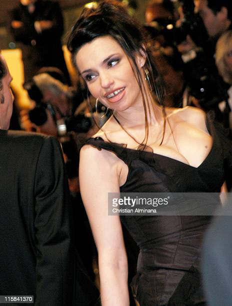 Beatrice Dalle during 2004 Cannes Film Festival 'Clean' Premiere in Cannes France