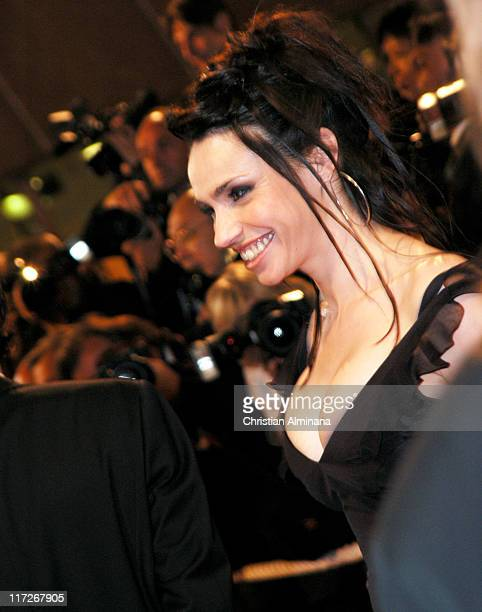 Beatrice Dalle during 2004 Cannes Film Festival Clean Premiere in Cannes France