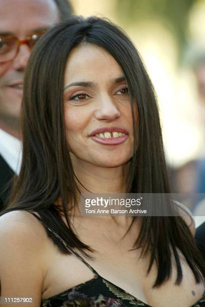 Beatrice Dalle during 2004 Cannes Film Festival 'The Ladykillers' Premiere at Palais Du Festival in Cannes France