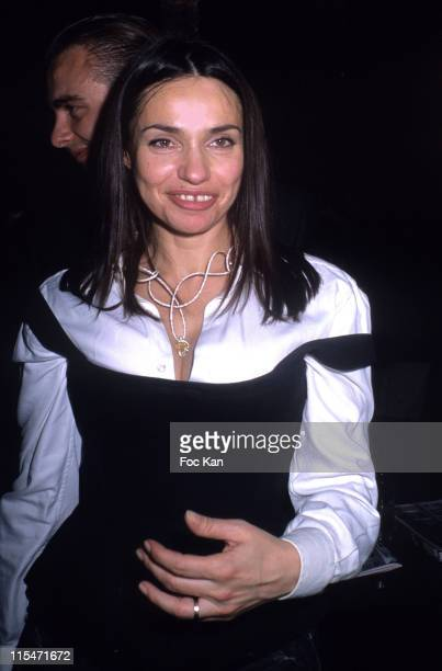 Beatrice Dalle during ''Beatrice Dalle Face a l'Objectif'' book and ''Champions'' book Launch at Cafe De L'Homme Musee de L'Homme in Paris France