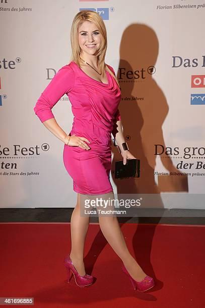 Beatrice Egli attends 'Das grosse Fest der Besten' at Velodrom on January 10 2014 in Berlin Germany
