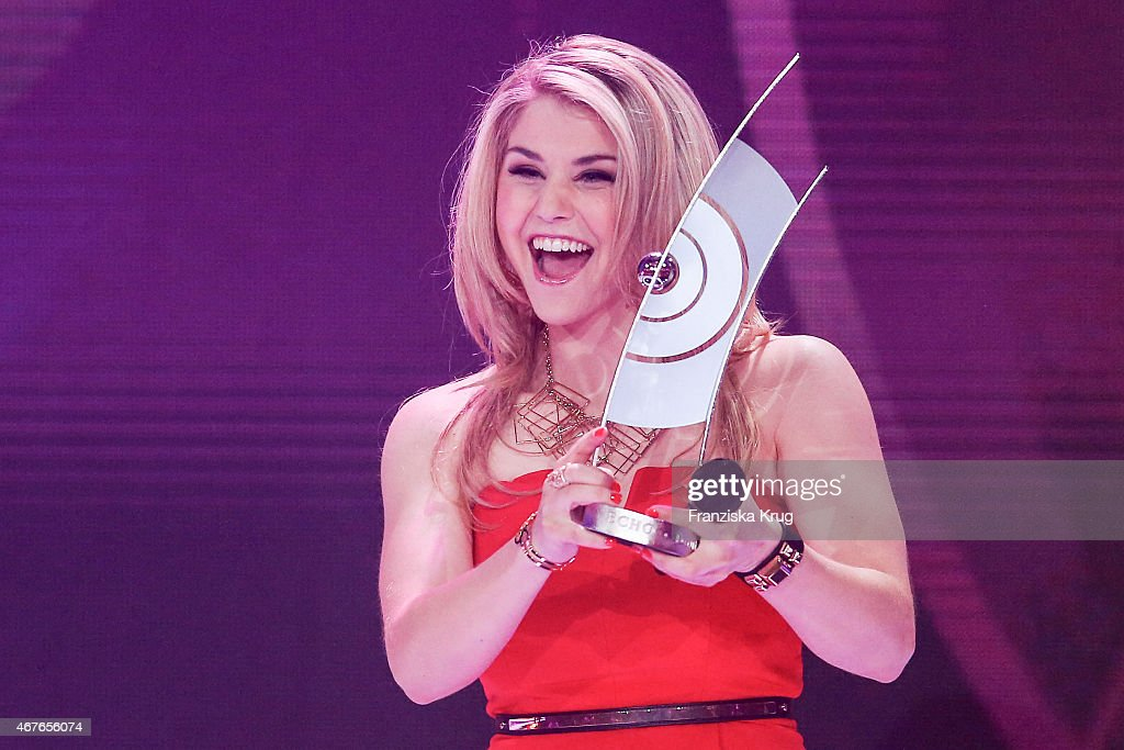 Beatrice Egli attends the Echo Award 2015 - Show on March 26, 2015 in Berlin, Germany.