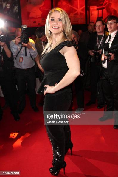 Beatrice Egli attends the LEA Live Entertainment Award 2014 at Festhalle Frankfurt on March 11 2014 in Frankfurt am Main Germany