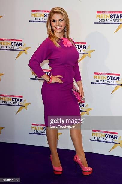 Beatrice Egli attends the 'Mein Star des Jahres 2014' awards at Kehrwieder Theater on September 16 2014 in Hamburg Germany
