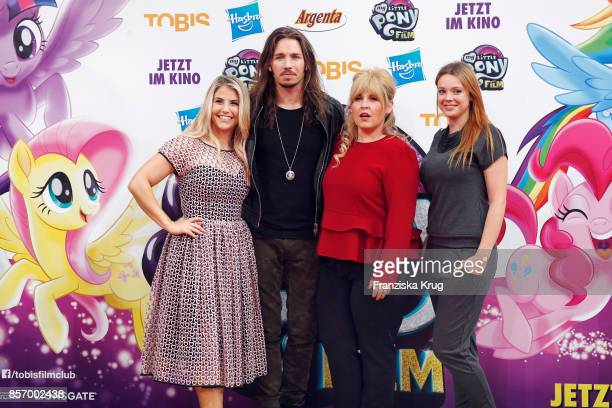 Beatrice Egli Gil Ofarim Maite Kelly and Anne Wuensche attend the 'My little Pony' Premiere at Zoo Palast on October 3 2017 in Berlin Germany