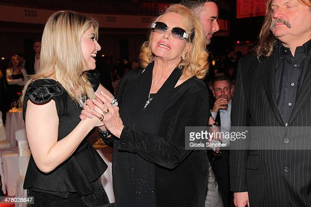 Beatrice Egli Hannelore attend the LEA Live Entertainment Award 2014 at Festhalle Frankfurt on March 11 2014 in Frankfurt am Main Germany