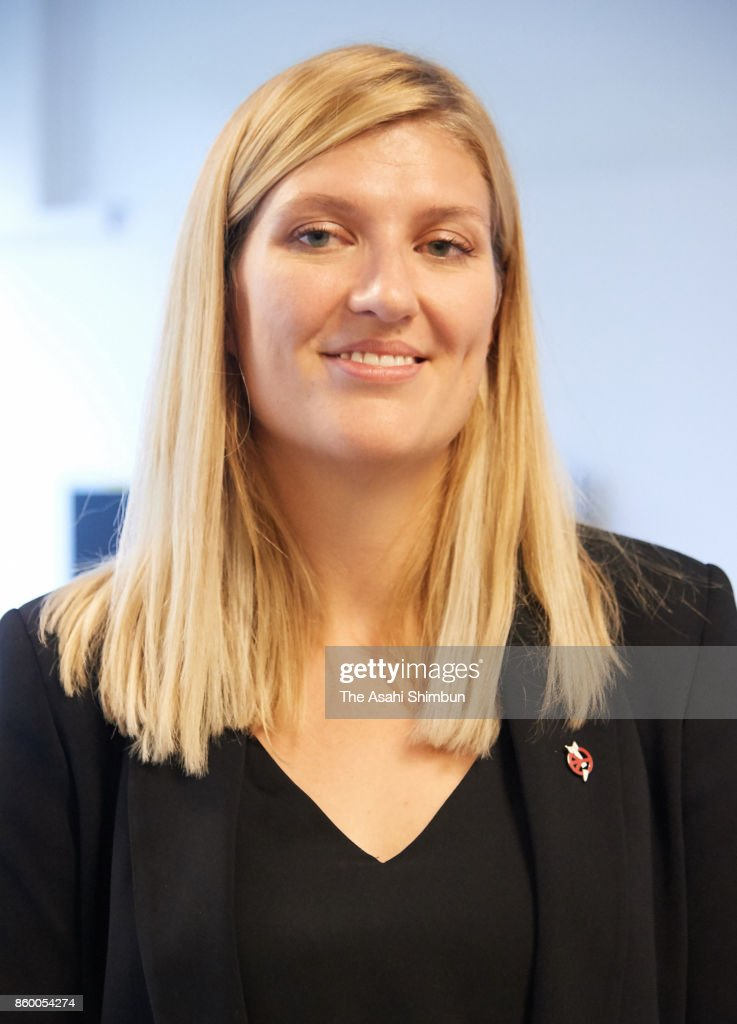 Beatrice Fihn, executive director of the International Campaign to Abolish Nuclear Weapons (ICAN) speaks to media after the Nobel Peace Prize is announced on October 6, 2017 in Geneva, Switzerland. Focusing on the inhumane nature of nuclear weapons, ICAN, established in 2007, has sought to make illegal all forms of nuclear weapons.
