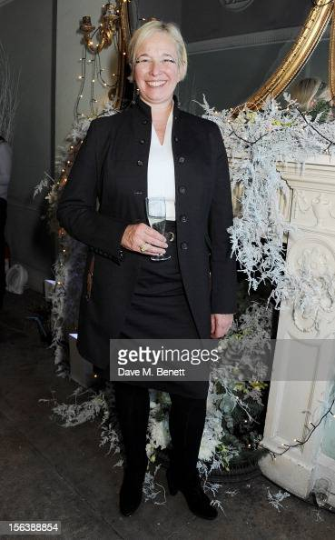 Beatrice Lafon President of European division attends a party celebrating the partnership between international fashion retailer Claire's and the...