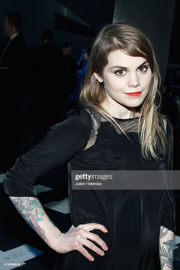 Beatrice Martin attends the H&M show as part of the Paris Fashion Week Womenswear Fall/Winter 2014-2015 on February 26, 2014 in Paris, France.