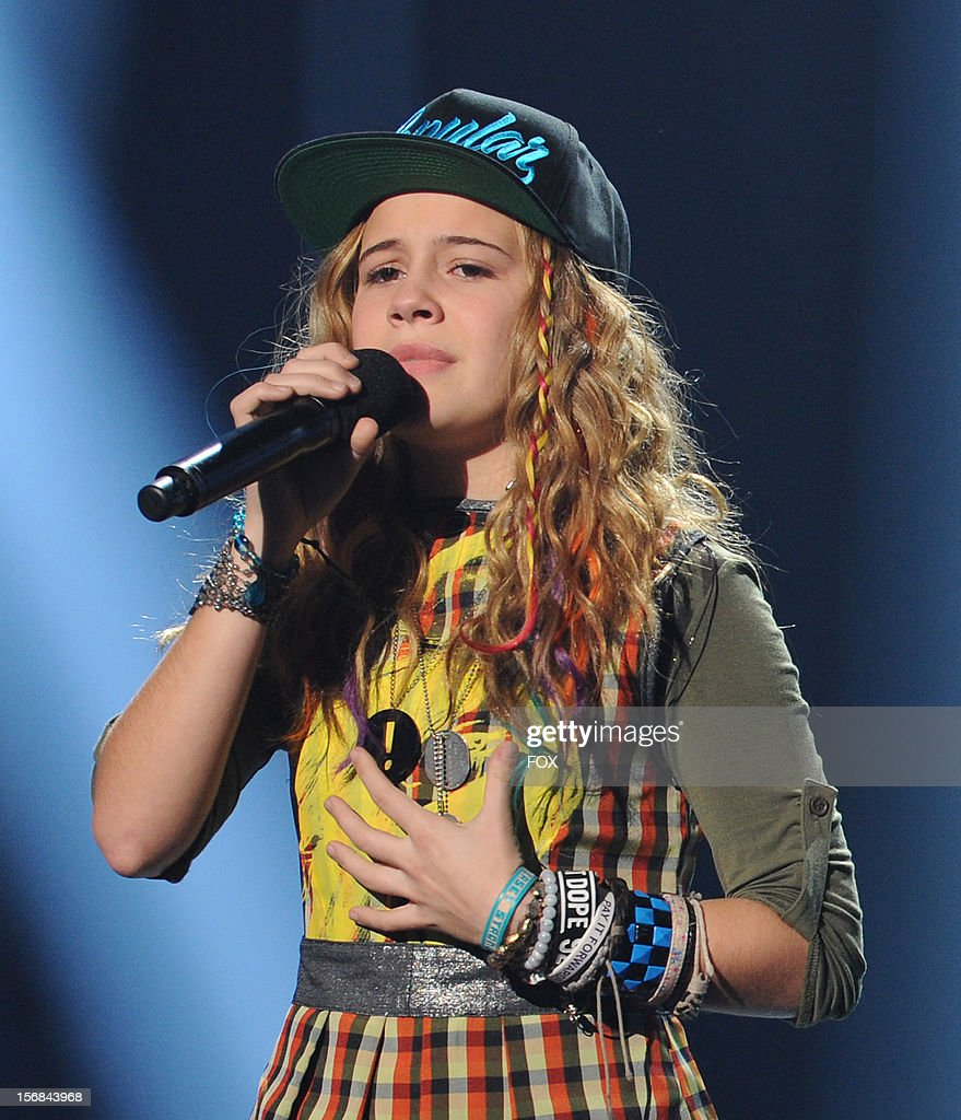 Beatrice Miller onstage at FOX's 'The X Factor' Season 2 Top 10 to 8 Live Elimination Show on November 22, 2012 in Hollywood, California.
