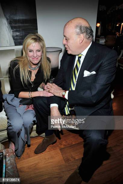Beatrice Reed and Reinaldo Herrera attend ALEX HITZ Party at Private Residence on March 6 2010 in Hollywood California