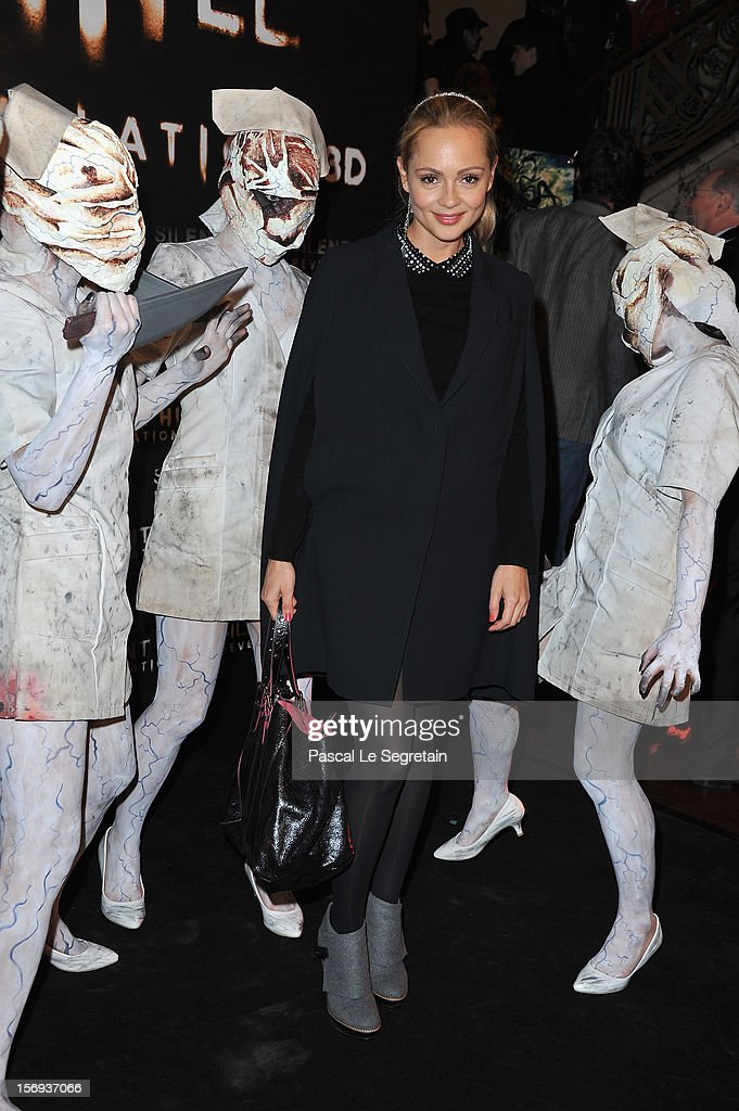 Beatrice Rosen attends the Paris Premiere for the film 'Silent Hill Revelation 3D' at Gaumont Capucines on November 25, 2012 in Paris, France.
