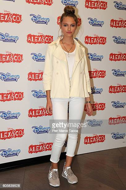Beatrice Vendramin attends a photocall for 'Alex Co' on September 15 2016 in Milan Italy