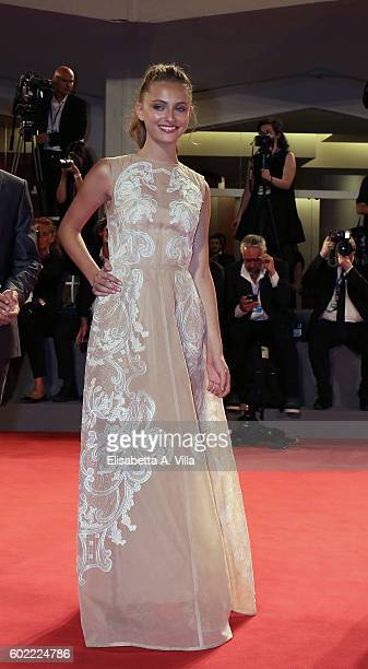 Beatrice Vendramin attends the premiere of 'The Magnificent Seven' during the 73rd Venice Film Festival at Sala Grande on September 10 2016 in Venice...