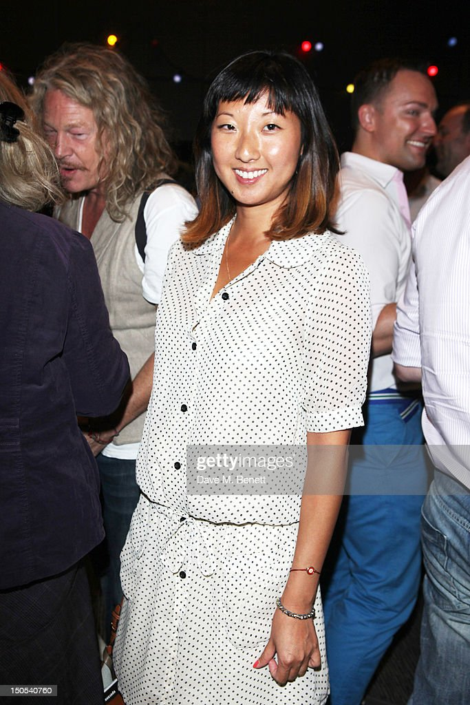 Beatrix Ong attend the 'Carousel - Press Night - Curtain Call' at Barbican Theatre on August 20, 2012 in London, England.