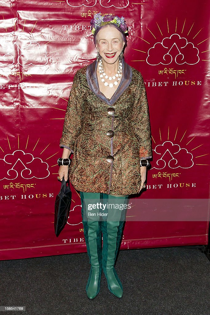 Beatrix Ost attends the 10th annual Tibet House Benefit Auction at Christie's Auction House on December 18, 2012 in New York City.