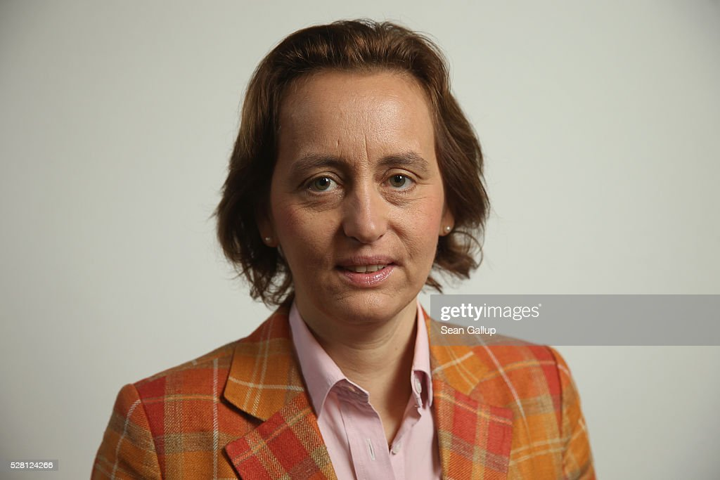 Beatrix von Storch, born Duchess Beatrix Amelie Ehrengard Eilika of Oldenburg, poses for a photo before speaking with members of the Foreign Journalists' Association on May 4, 2016 in Berlin, Germany. Von Storch is deputy co-chairwoman of the Alternative fuer Deutschland (Alternative for Germany) political party, a right-wing populist party that has won seats in German state parliaments and is currently in third place among political parties in national opinion polls.