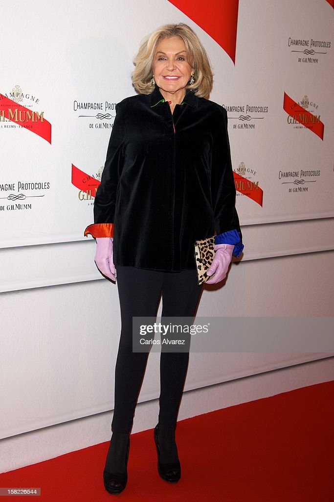 Beatriz de Orleand attends the Maison Mumm inauguration at the Santo Mauro Hotel on December 11, 2012 in Madrid, Spain.