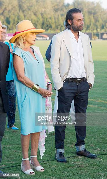 Beatriz de Orleans and Jordi Molla attend Land Rover Trophy delivery of 43th International Polo Tournament on August 30 2014 in Sotogrande Spain