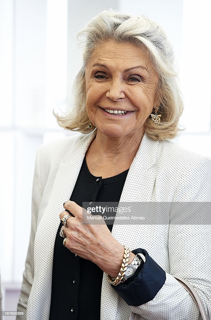 Beatriz de Orleans attends the ATP 500 World Tour Barcelona Open Banc Sabadell 2013 tennis tournament at the Real Club de Tenis on April 26, 2013 in Barcelona, Spain.