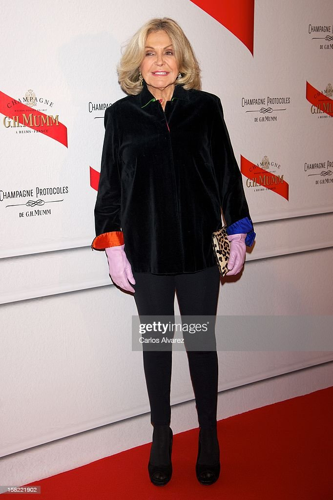 Beatriz de Orleans attends the 'Maison Mumm' inauguration at the Santo Mauro Hotel on December 11, 2012 in Madrid, Spain.