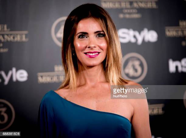 Beatriz Jarrin attends El Jardin del Miguel Angel party photocall at Miguel Angel hotel on May 24 2017 in Madrid Spain
