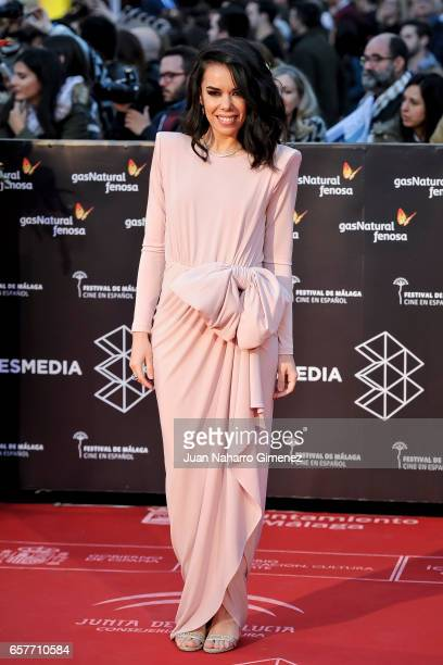 Beatriz Luengo attends photocall during of the 20th Malaga Film Festival on March 25 2017 in Malaga Spain