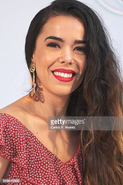 Beatriz Luengo attends 'Tu Cara Me Suena' photocall during FesTVal 2016 Day 2 Televison Festival on September 6 2016 in VitoriaGasteiz Spain