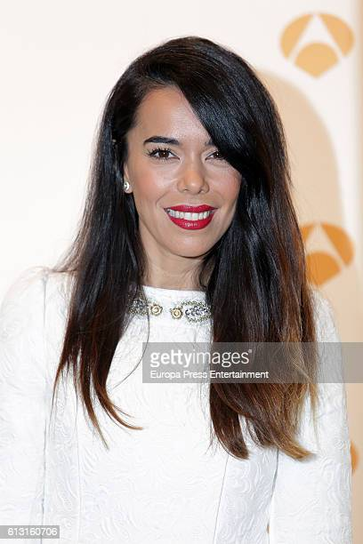 Beatriz Luengo poses during a photocall to present 'Tu Cara Me Suena' on October 6 2016 in Madrid Spain