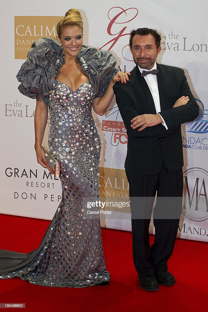 Beatriz Trapote and Jose Manuel Parada attends the Global Gift Gala 2012 at Gran Melia Resort Don Pepe on August 19, 2012 in Marbella, Spain. The Global Gift Gala is hosted by Cesare Scariolo Foundation and Eva Longoria Foundation to raise money for children.