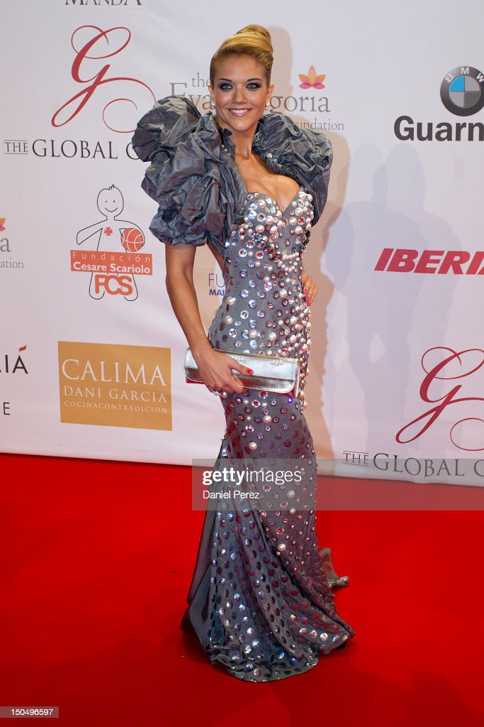 Beatriz Trapote attends the Global Gift Gala 2012 at Gran Melia Resort Don Pepe on August 19, 2012 in Marbella, Spain. The Global Gift Gala is hosted by Cesare Scariolo Foundation and Eva Longoria Foundation to raise money for children.