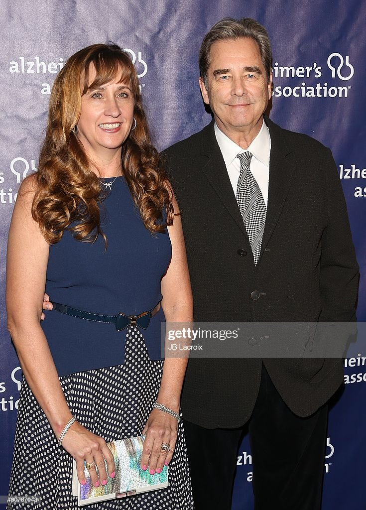 <a gi-track='captionPersonalityLinkClicked' href=/galleries/search?phrase=Beau+Bridges&family=editorial&specificpeople=214546 ng-click='$event.stopPropagation()'>Beau Bridges</a> (R) and Wendy Treece Bridges attend 'A Night At Sardi's' To Benefit The Alzheimer's Association held at the Beverly Hitlon Hotel on March 26, 2014 in Beverly Hills, California.