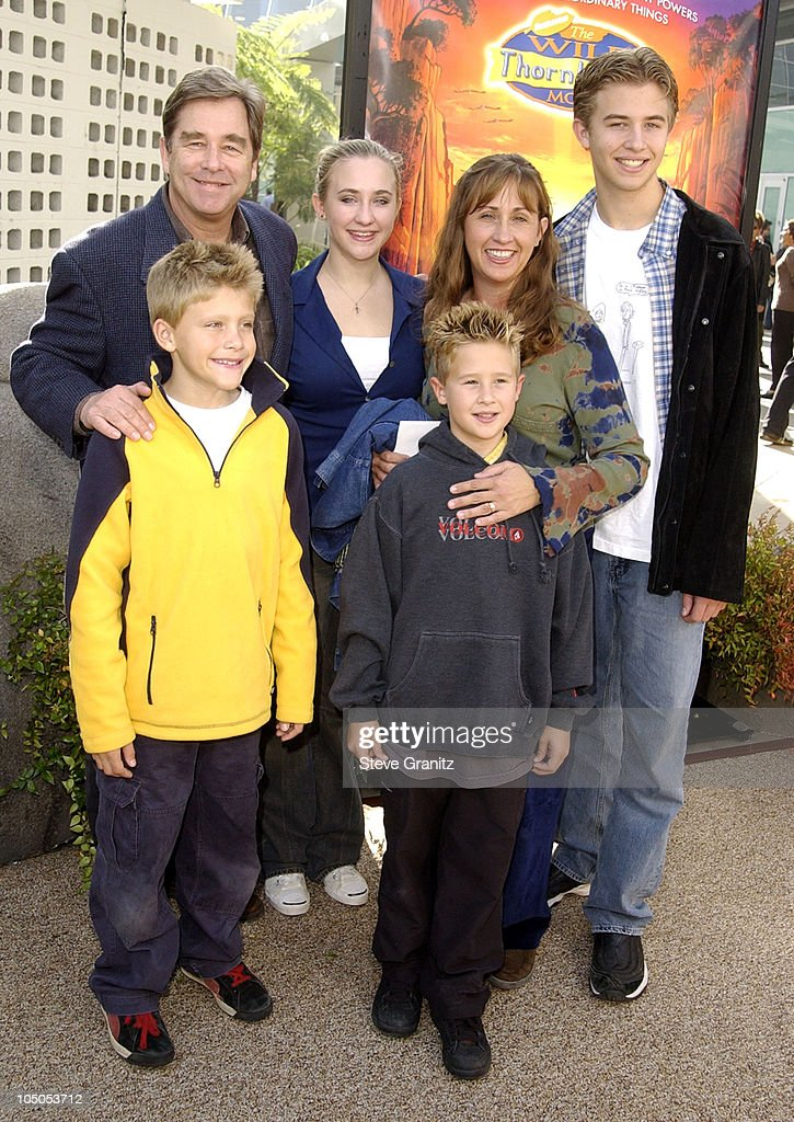 <a gi-track='captionPersonalityLinkClicked' href=/galleries/search?phrase=Beau+Bridges&family=editorial&specificpeople=214546 ng-click='$event.stopPropagation()'>Beau Bridges</a> & family during 'The Wild Thornberrys Movie' Premiere at Cinerama Dome in Hollywood, California, United States.