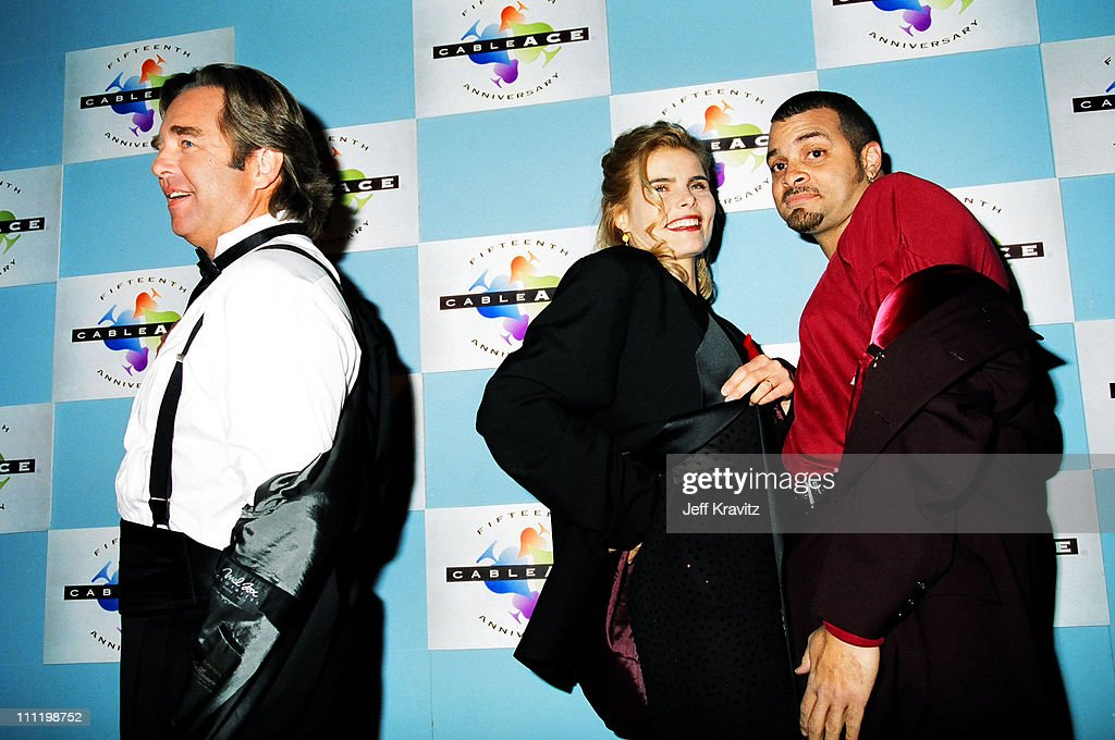 Beau Bridges, Mariel Hemingway and Sinbad during 1994 Cable Ace Awards in Los Angeles, California, United States.