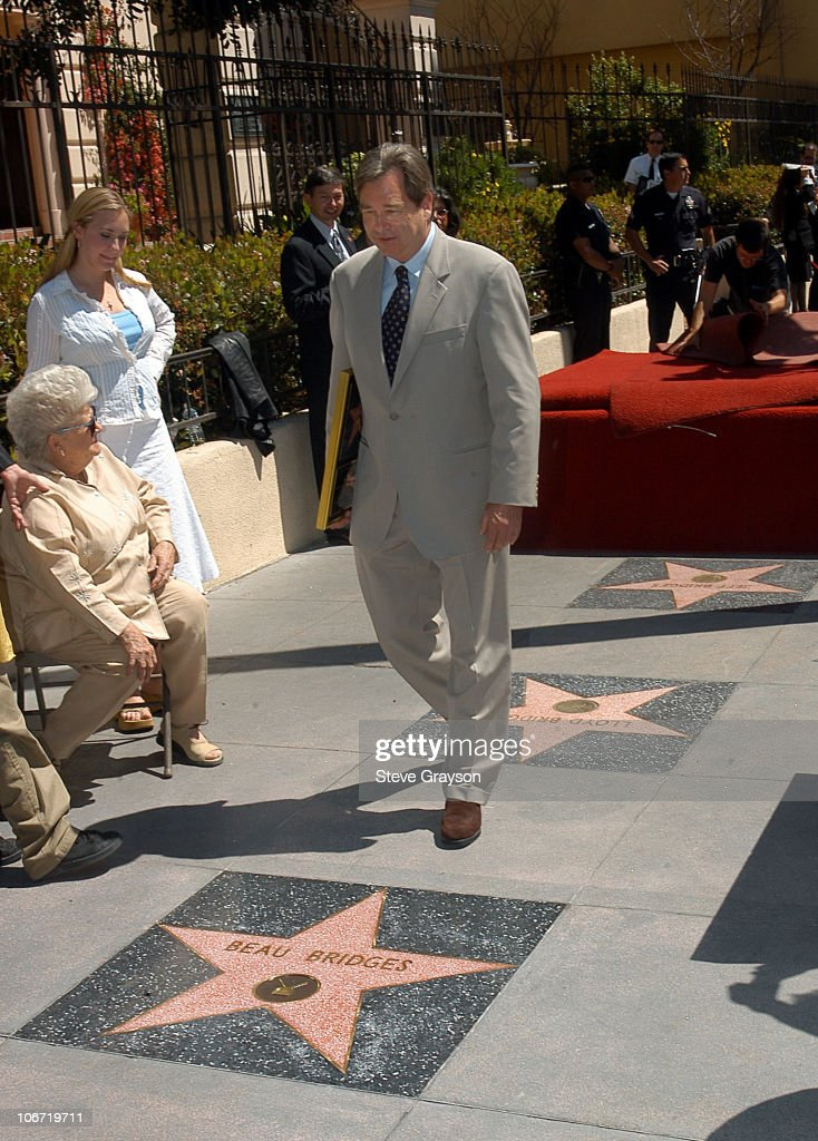 Beau Bridges Honored with a Star on the Hollywood Walk of Fame for His