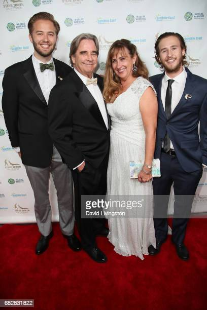 Beau Bridges Wendy Bridges and guests attend the Steve Irwin Gala Dinner at the SLS Hotel at Beverly Hills on May 13 2017 in Los Angeles California